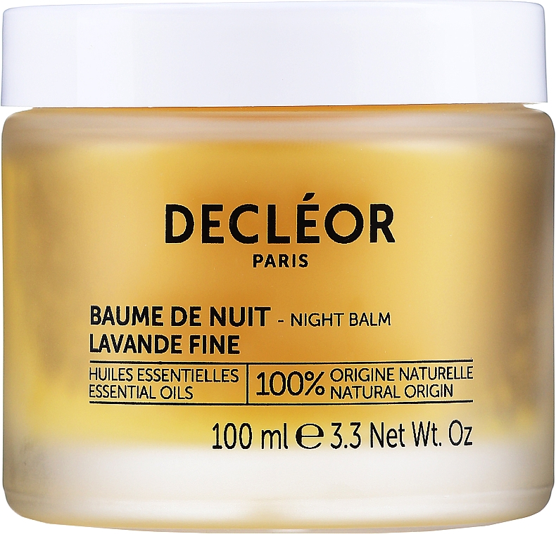 Balsam de noapte pentru întinerirea faței, cu ulei de iris - Decleor Aromessence Iris Rejuvenating Night Balm — Imagine N1