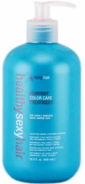 Mască de vindecare pentru păr vopsit și aspru - SexyHair HealthySexyHair Reinvent Color Care Treatment For Thick/Coarse Hair — Imagine N2