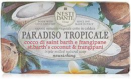 Parfumuri și produse cosmetice Săpun cu cocos și iasomie - Nesti Dante Paradiso Tropicale St. Barths Coconut & Frangipane Soap