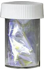 Parfumuri și produse cosmetice Folie cu efect de sticlă pentru unghii - Ronney Professional Transfer Glass Foil
