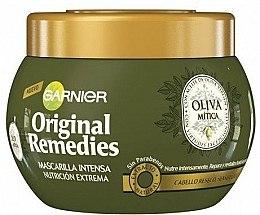 Parfumuri și produse cosmetice Mască hidratantă cu extract de măsline pentru păr - Garnier Original Remedies Intense Nutrition Mask Extreme