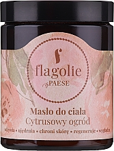 "Parfumuri și produse cosmetice Unt de corp ""Citrus Garden"" - Flagolie by Paese Citrus Garden"