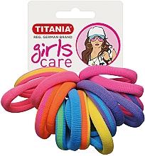 Parfumuri și produse cosmetice Elastice de păr, 16 buc., multicolore - Titania Girls Care