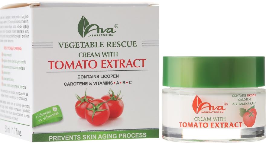 Cremă cu extract de tomate pentru față - Ava Laboratorium Vegetable Rescue Cream — Imagine N1