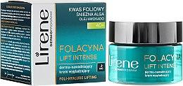 Parfumuri și produse cosmetice Cremă ultra-hidratantă și matifiantă de noapte - Lirene Folacyna Lift Intense Cream 40+