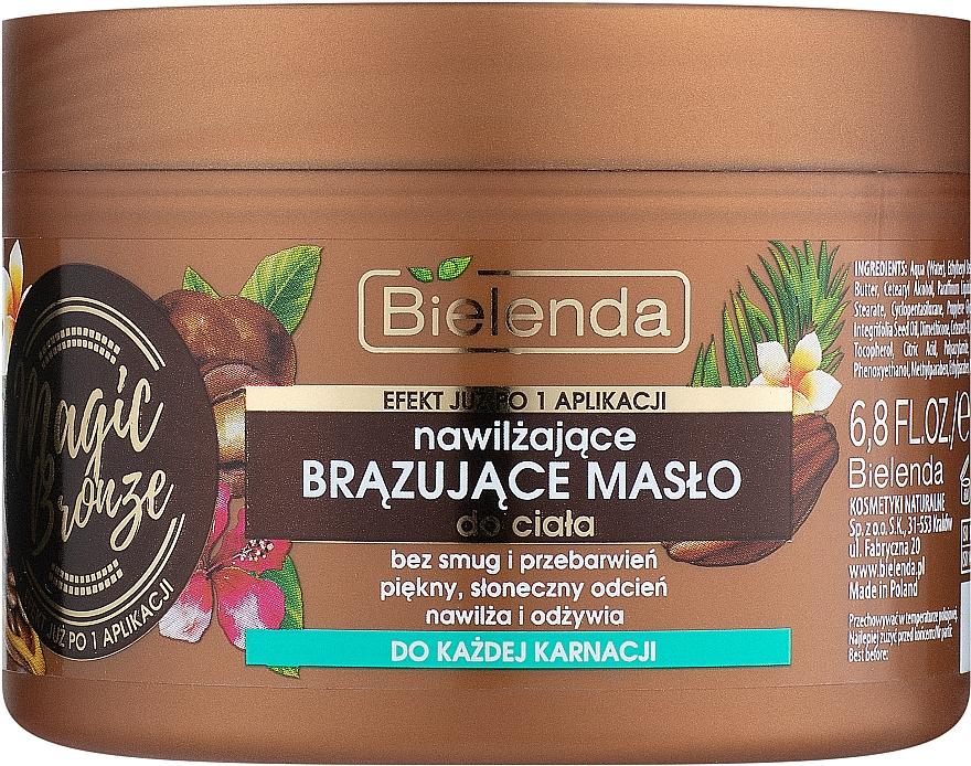 Unt bronzant de corp - Bielenda Magic Bronze Moisturizing Bronzing Body Butter