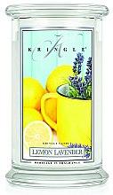 Parfumuri și produse cosmetice Lumânare aromată (borcan) - Kringle Candle Lemon Lavender