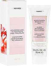 Parfumuri și produse cosmetice Mască regenerantă pentru față - Korres Pomegranate Ahas & Enzymes Resurfacing Mask