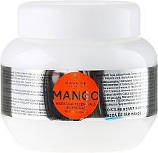 """Parfumuri și produse cosmetice Mască de păr """"Mango"""" - Kallos Cosmetics Mango"""