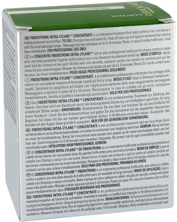 Concentrat pentru părul slab - Biolage Advanced FiberStrong Concentrate — Imagine N5