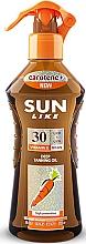Parfumuri și produse cosmetice Ulei-spray pentru bronzare rapidă SPF 30 - Sun Like Deep Tanning Oil SPF 30 Pump