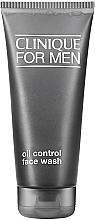 Parfumuri și produse cosmetice Gel de curățare pentru piele grasă - Clinique For Men Oil Control Face Wash