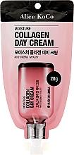 Parfumuri și produse cosmetice Cremă cu colagen pentru față - Alice Koco Moisture Collagen Day Cream