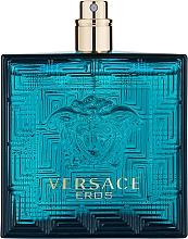 Parfumuri și produse cosmetice Versace Eros - Apă de toaletă (tester fără capac)