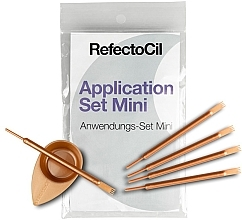 Parfumuri și produse cosmetice Set pentru vopsirea genelor și sprâncenelor - RefectoCil Application Set Mini Rose Gold (5buc)