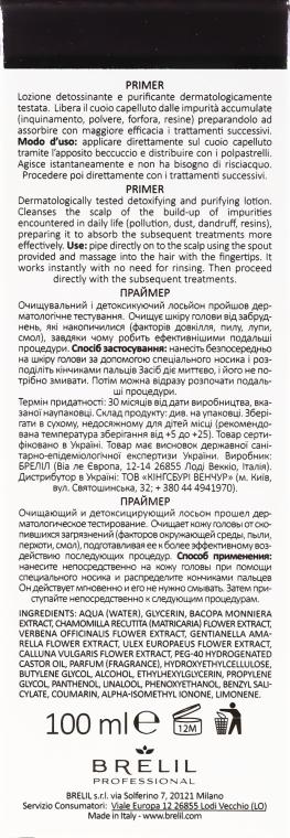 Loțiune pentru păr - Brelil Bio Traitement Pure Primer — Imagine N3
