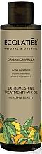 """Parfumuri și produse cosmetice Ulei pentru strălucirea părului """"Sănătate și frumusețe"""" - Ecolatier Organic Marula Extreme Shine Treatment Hair Oil"""