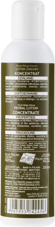 Loțiune concentrat pentru față pe bază de plante - Jadwiga Herbal Lotion Concentrate — Imagine N2