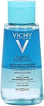 Demachiant de ochi în 2 faze - Vichy Purete Thermale Waterproof Eye Make-Up Remover — Imagine N2
