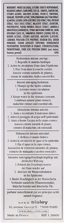 Cremă hidratantă cu efect anti-îmbătrânire - Sisley Hydra Global Intense Anti-Aging Hydration — Imagine N2