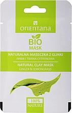 """Parfumuri și produse cosmetice Mască de argilă pentru ten combinat """"Ghimbir și Schisandra"""" - Orientana (ambalaj din hârtie)"""