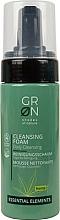Parfumuri și produse cosmetice Spumă de curățare pentru față - GRN Essential Elements Hemp Cleansing Foam