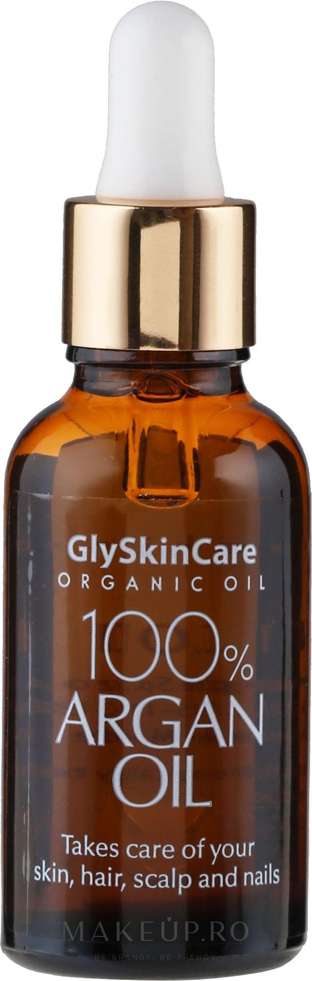Ulei de argan pentru față - GlySkinCare 100% Argan Oil — Imagine 30 ml