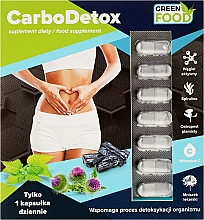 Parfumuri și produse cosmetice Suplimente nutritive - Noble Health Slim Line Carbodetox