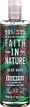 """Parfumuri și produse cosmetice Șampon pentru păr normal și uscat """"Aloe Vera"""" - Faith In Nature Aloe Vera Shampoo"""