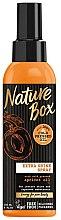 Parfumuri și produse cosmetice Spray cu ulei de caise pentru păr - Nature Box Apricot Oil Extra Shine Spray