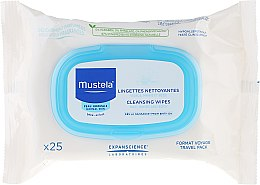 """Parfumuri și produse cosmetice Șervețele pentru curățarea feței """"Travel Pack"""" - Mustela Facial Cleansing Wipes"""
