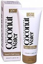 Parfumuri și produse cosmetice Cremă pentru mâini și unghii - Xpel Marketing Ltd Coconut Water Hand & Nail Cream