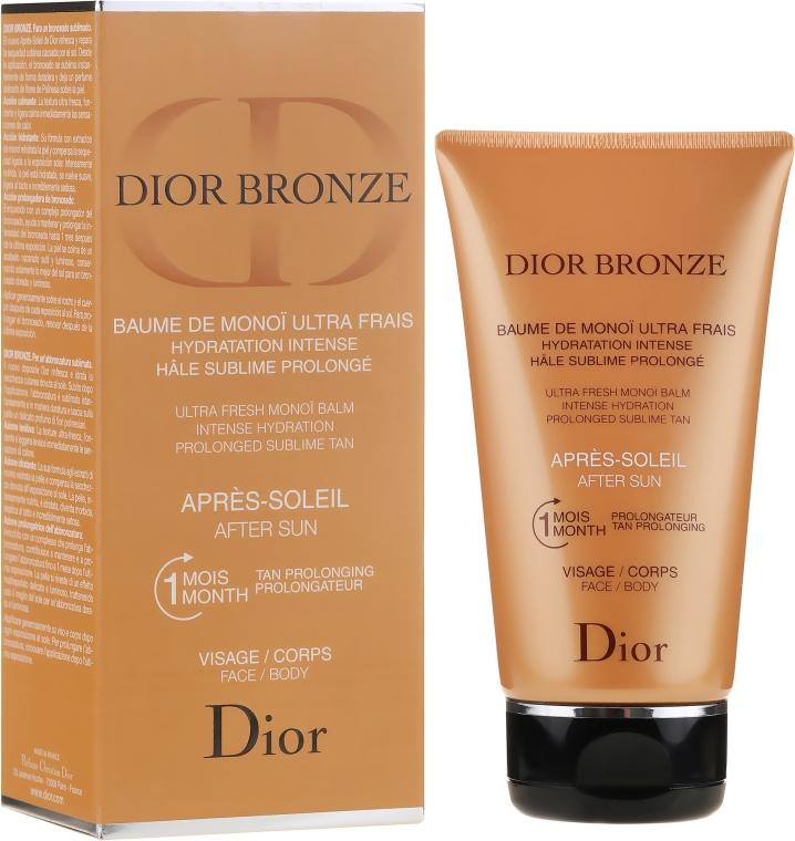 Cremă după bronzare pentru față și corp - Dior Bronze After Sun Baume de Monoi — Imagine N1