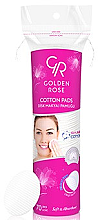 Parfumuri și produse cosmetice Dischete demachiante - Golden Rose Cotton Pads for Makeup Removal
