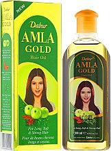 """Parfumuri și produse cosmetice Ulei pentru păr """"Auriu"""" - Dabur Amla Gold Hair Oil"""