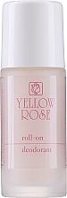 Parfumuri și produse cosmetice Deodorant roll-on pentru femei - Yellow Rose Deodorant Pink Roll-On