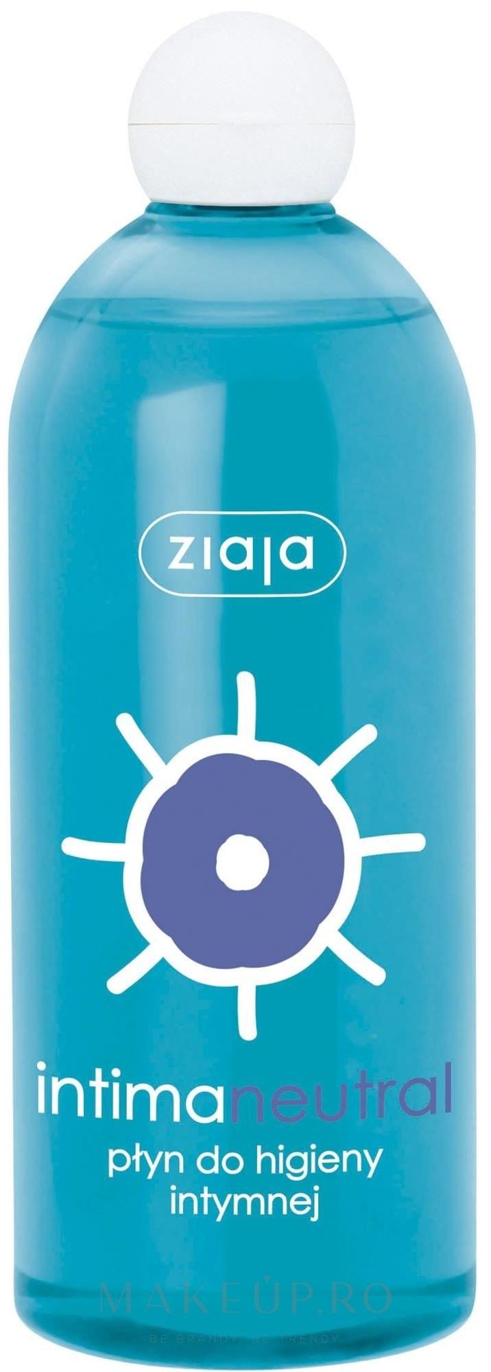 Gel neutru pentru igiena intimă - Ziaja Intima Gel — Imagine 500 ml