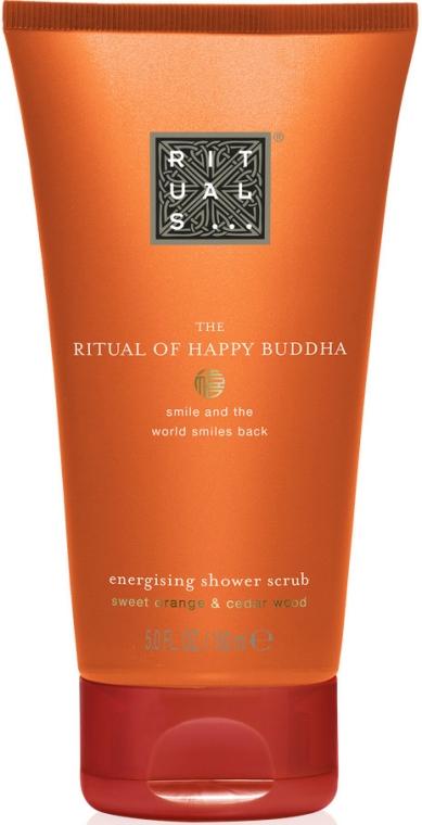 Scrub pentru corp - Rituals The Ritual of Happy Buddha Shower Scrub — Imagine N1