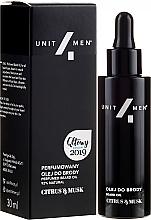 Parfumuri și produse cosmetice Ulei pentru barbă - Unit4Men Citrus&Musk Perfumed Beard Oil