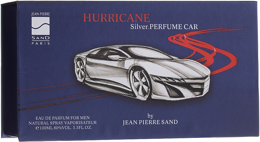 Jean-Pierre Sand Hurricane Silver - Apă de parfum