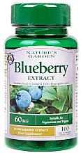 "Parfumuri și produse cosmetice Supliment alimentar ""Extract de afine"" - Nature's Garden Blueberry Extract"