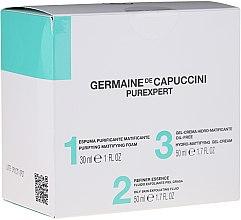 Parfumuri și produse cosmetice Set - Germaine de Capuccini Purexpert Special Set 1-2-3 Oily (f/foam/30ml + fluid/50ml + f/gel/50ml)