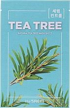Mască de față - The Saem Natural Tea Tree Mask Sheet — Imagine N3