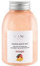 """Parfumuri și produse cosmetice Sare de baie """"Mango"""" - Kanu Nature Mango Fizzing Bath Salt"""