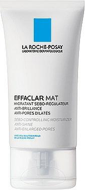La Roche-Posay Effaclar MAT - Emulsie hidratantă și matifiantă, pentru reglarea nivelului de sebum