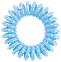 Parfumuri și produse cosmetice Elastic de păr - HH Simonsen Hair Cuddles Light Blue