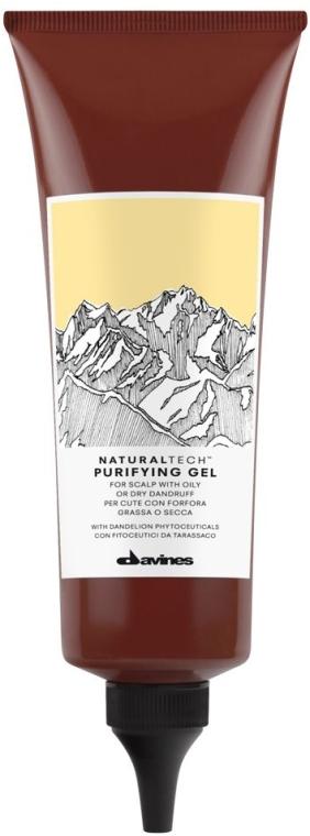 Gel de curățare pentru scalp - Davines NT Purifying Gel — Imagine N1