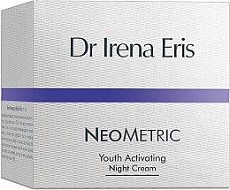 """Parfumuri și produse cosmetice Cremă de noapte pentru față """"Activator al tinereții"""" - Dr Irena Eris Neometric Youth Activating Night Cream"""