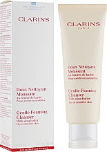 Demachiant - Clarins Gentle Foaming Cleanser with Shea Butter — Imagine N1