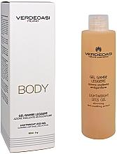 Parfumuri și produse cosmetice Gel anti-edem pentru picioare - Verdeoasi Lightweight Legs Gel Slimming Anti-Swelling Action